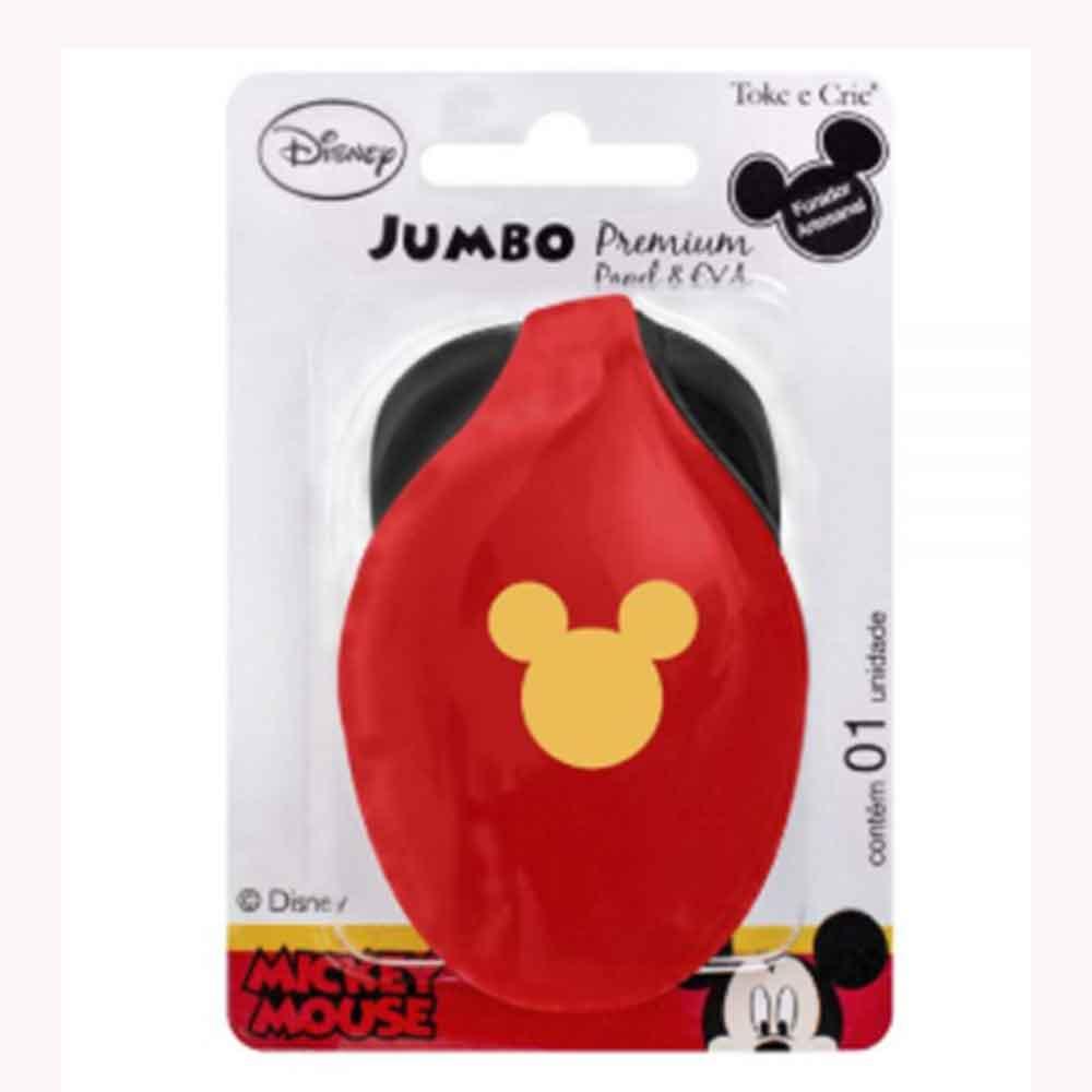 Furador Jumbo Premium Cabeça Mickey Mouse - Toke e Crie
