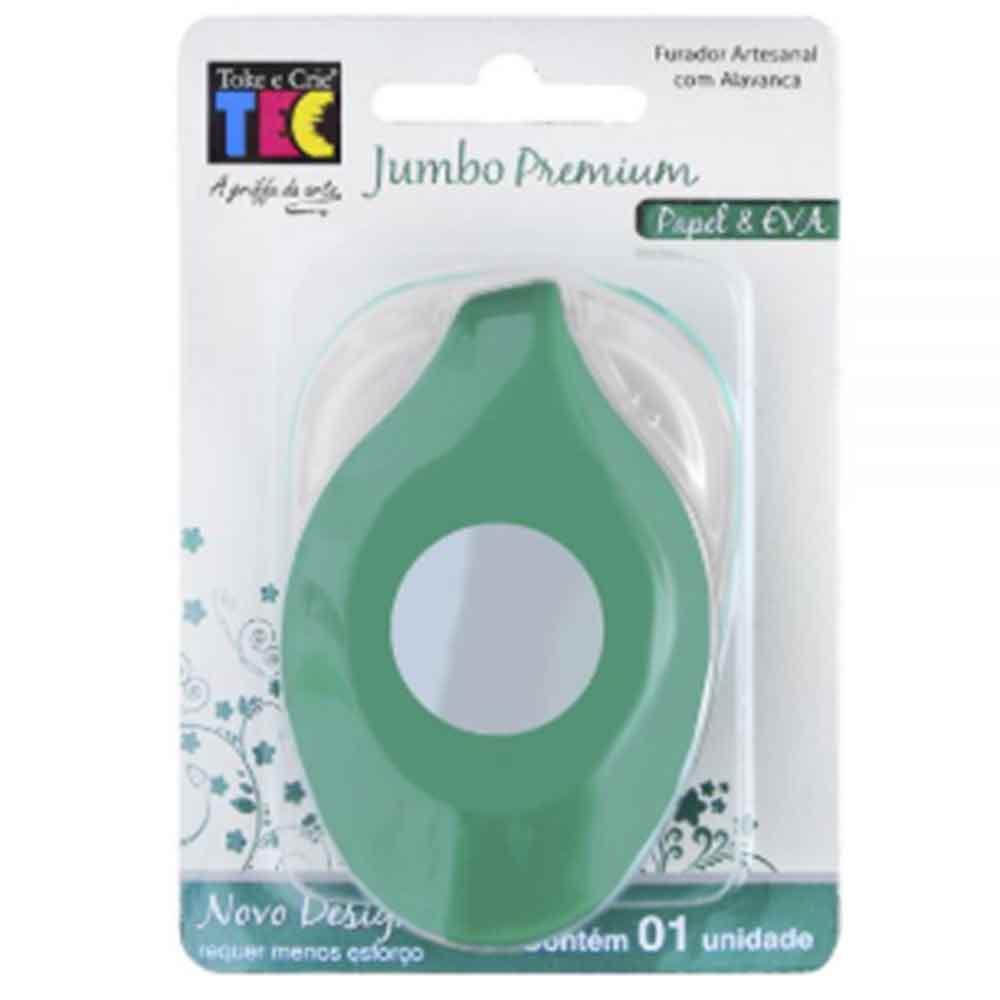 Furador Jumbo Premium Círculo - Toke e Crie
