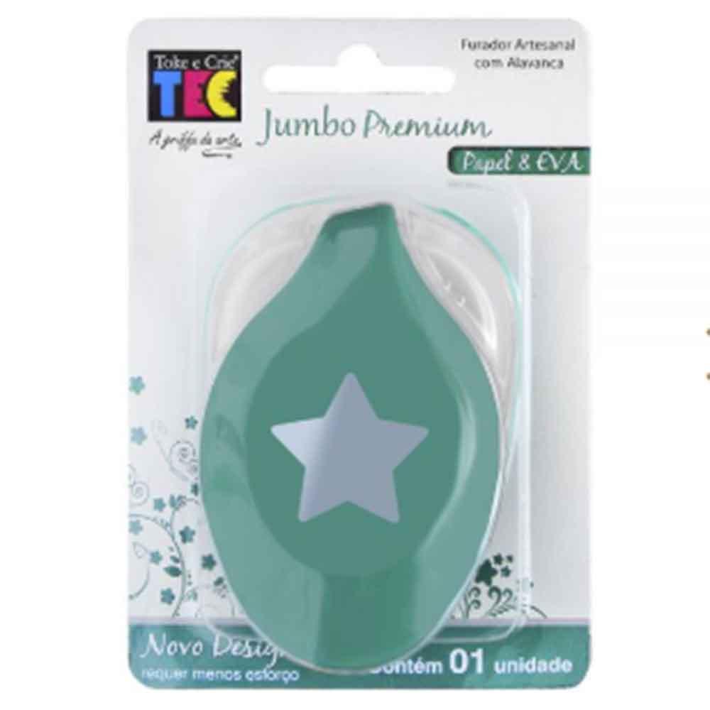 Furador Jumbo Premium Estrela - Toke e Crie