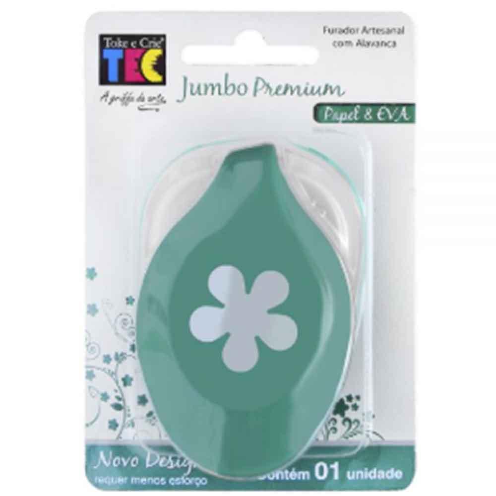 Furador Jumbo Premium Flor Hélice - Toke e Crie