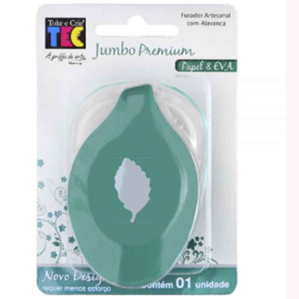 Furador Jumbo Premium Folha 2 - Toke e Crie