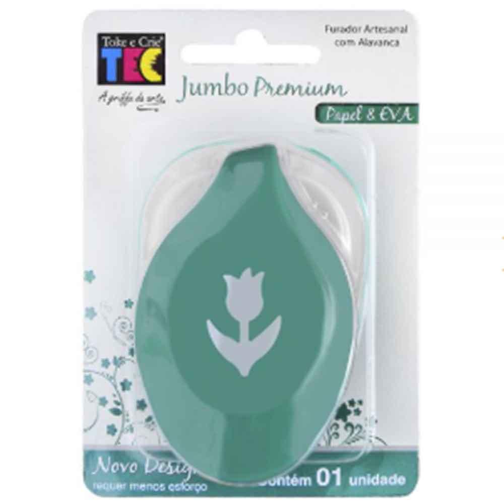 Furador Jumbo Premium Tulipa - Toke e Crie