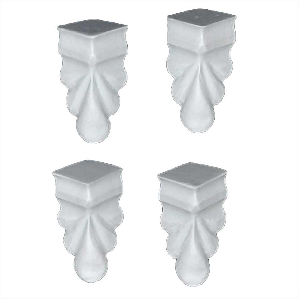 Kit Pezinhos  em Resina para caixas e bandejas - IV402