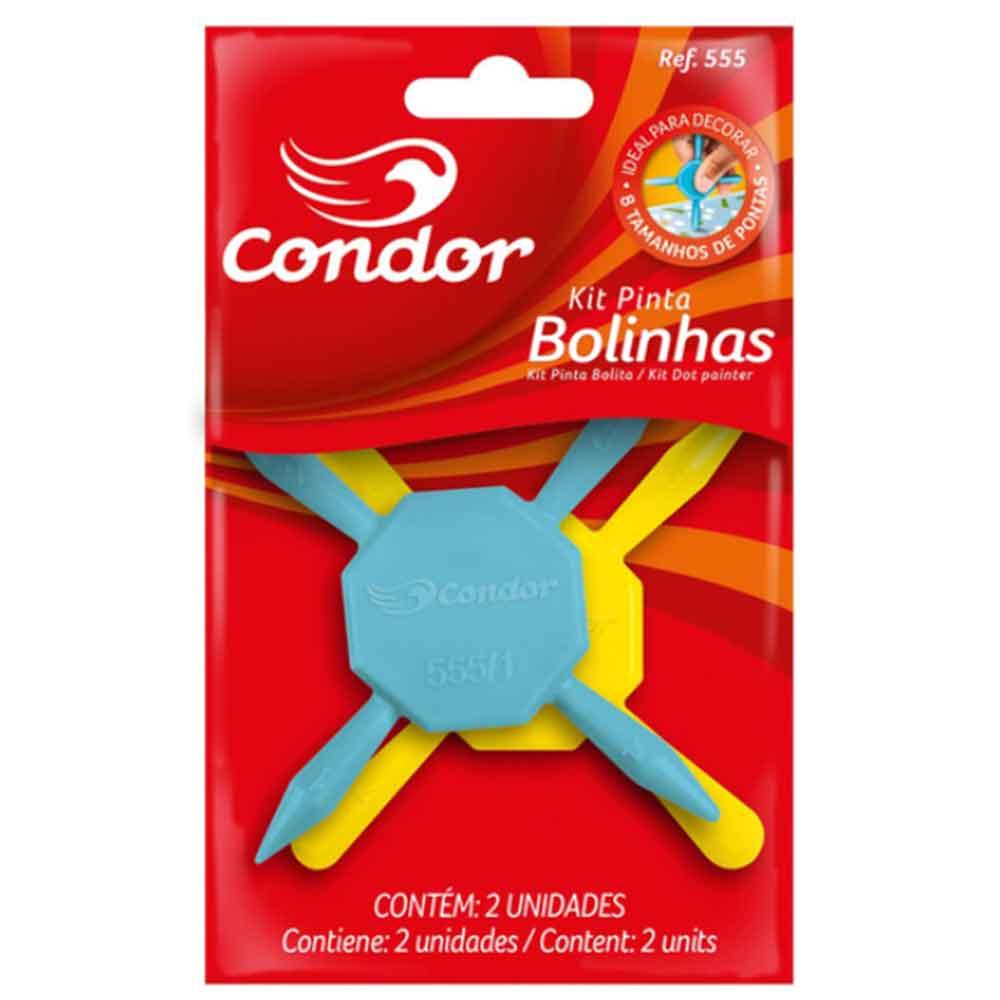 Kit pinta bolinhas 555 - Condor