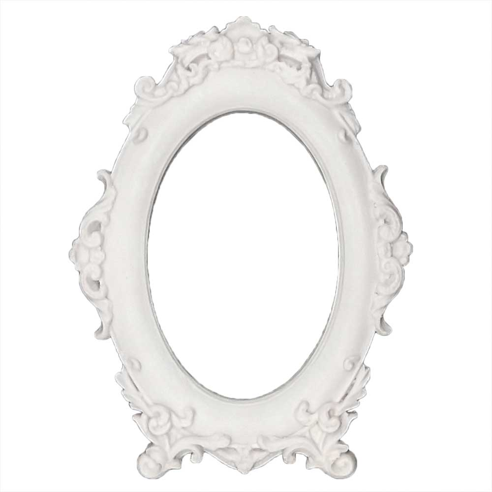 Moldura Oval em Resina - IV374