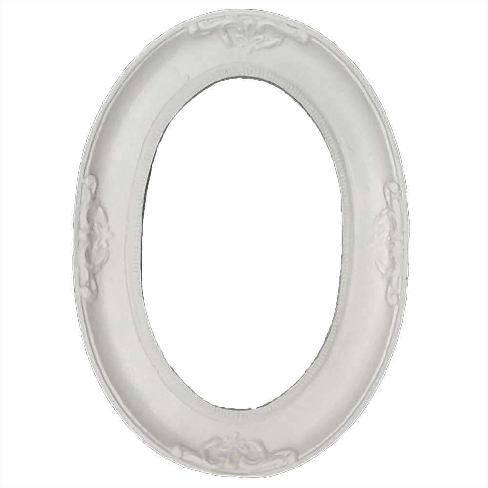 Moldura Oval em Resina - IV389