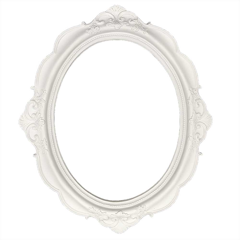 Moldura Oval em Resina - IV640