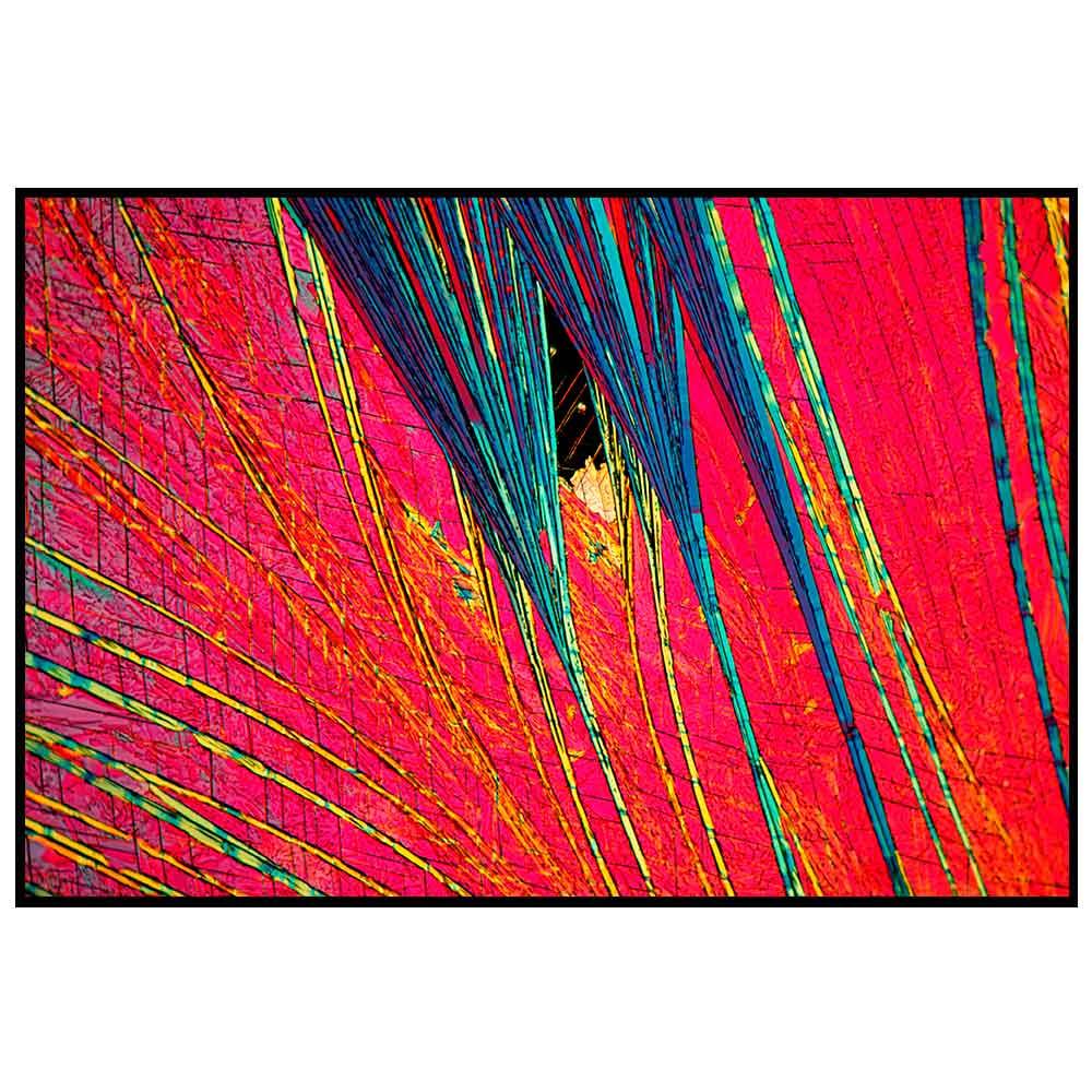 Quadro decorativo Abstrato em canvas - AGAB009