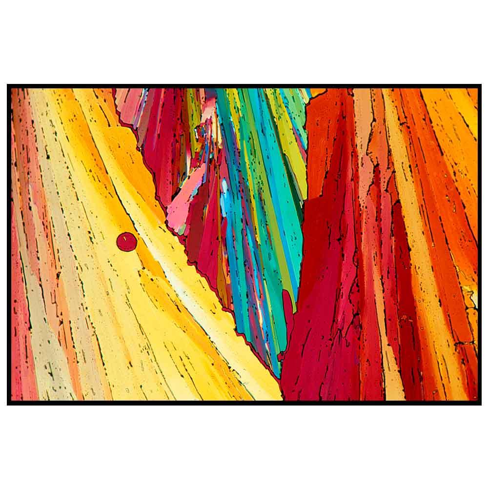 Quadro decorativo Abstrato em canvas - AGAB013