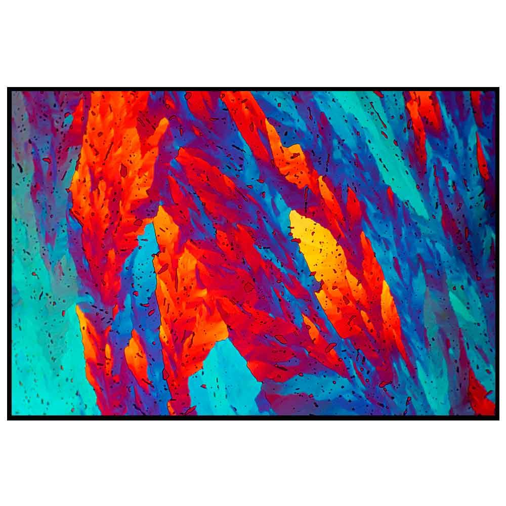 Quadro decorativo Abstrato em canvas - AGAB016
