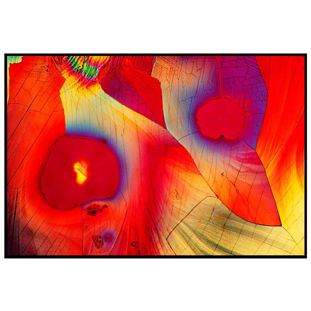 Quadro decorativo Abstrato em canvas - AGAB019