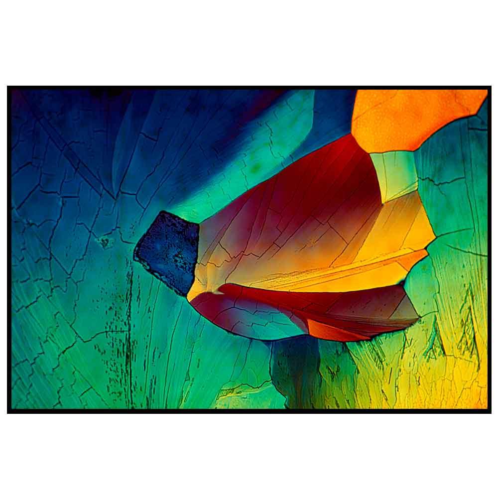 Quadro decorativo Abstrato em canvas - AGAB022