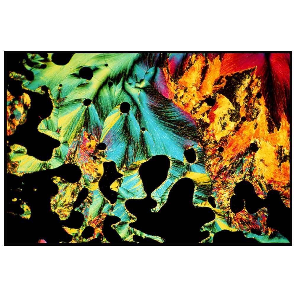 Quadro decorativo Abstrato em canvas - AGAB028
