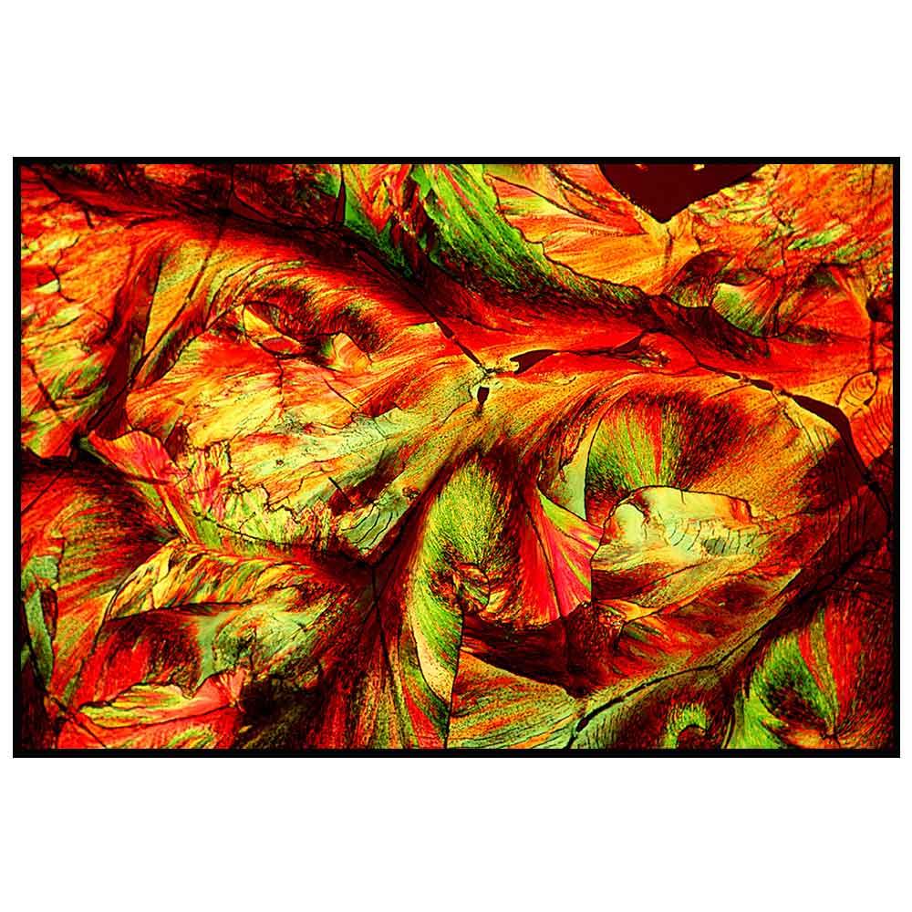 Quadro decorativo Abstrato em canvas - AGAB029
