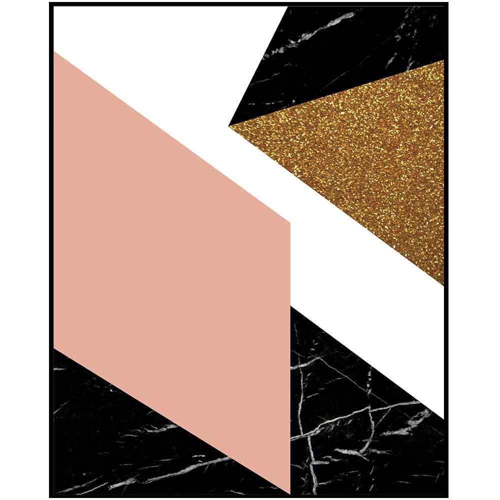 Quadro decorativo Abstrato em canvas - AGAB063