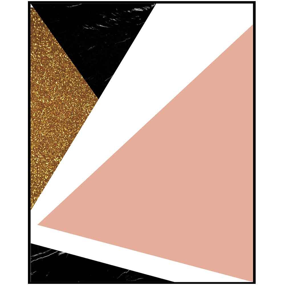 Quadro decorativo Abstrato em canvas - AGAB064