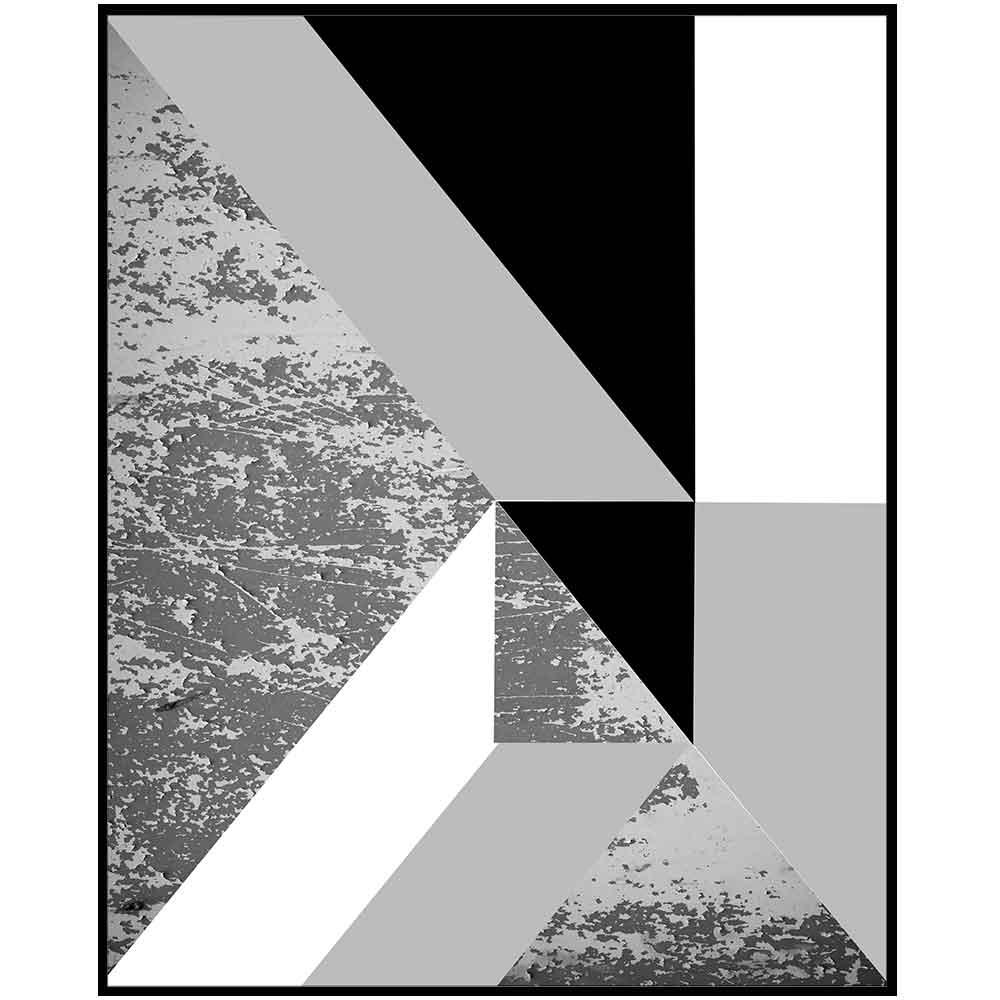 Quadro decorativo Abstrato em canvas - AGAB069