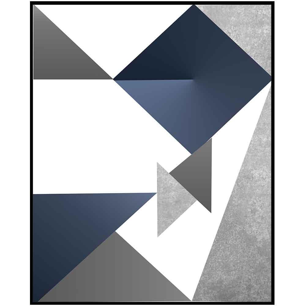 Quadro decorativo Abstrato em canvas - AGAB071