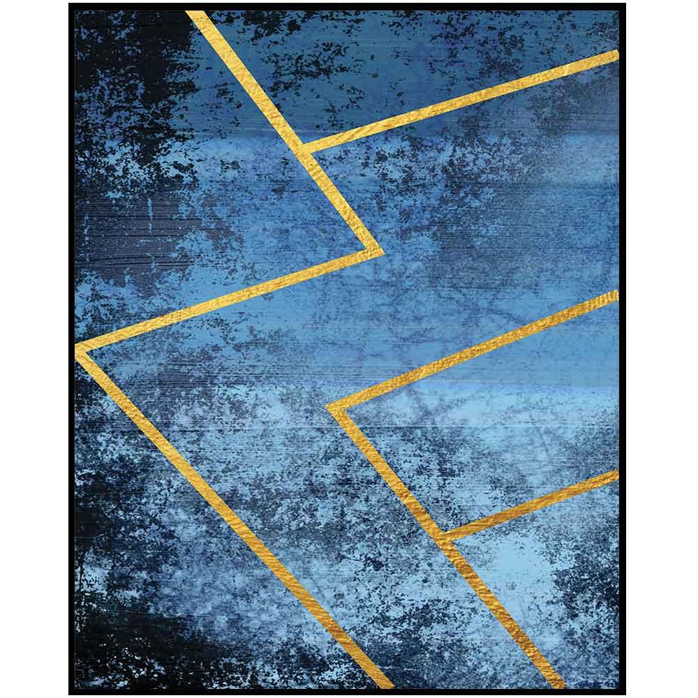 Quadro decorativo Abstrato em canvas - AGAB074