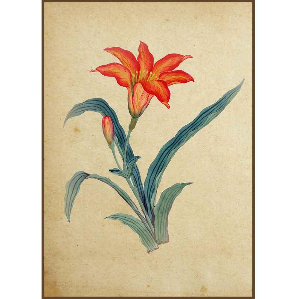 Quadro decorativo Flores em canvas - AGFL001