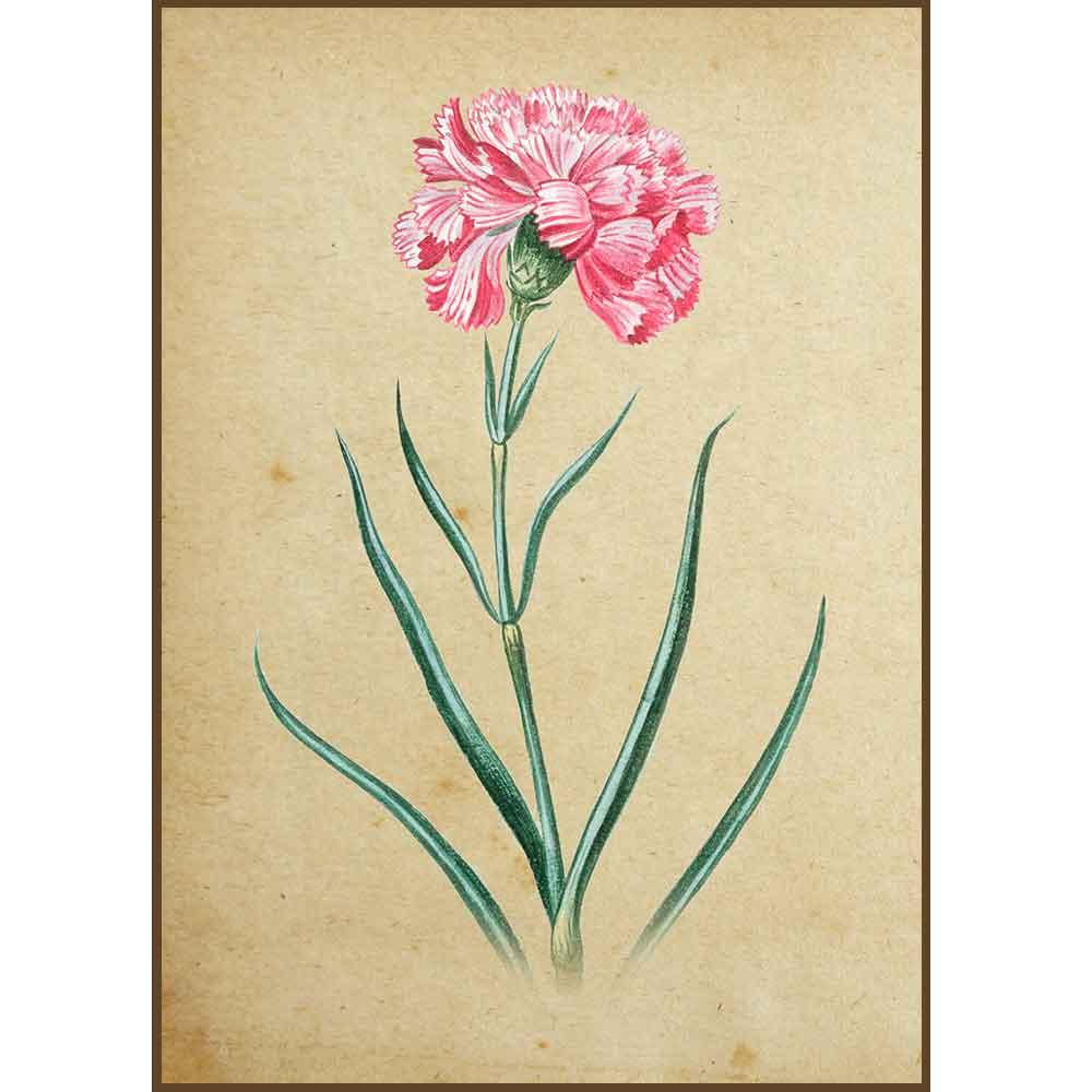 Quadro decorativo Flores em canvas - AGFL008