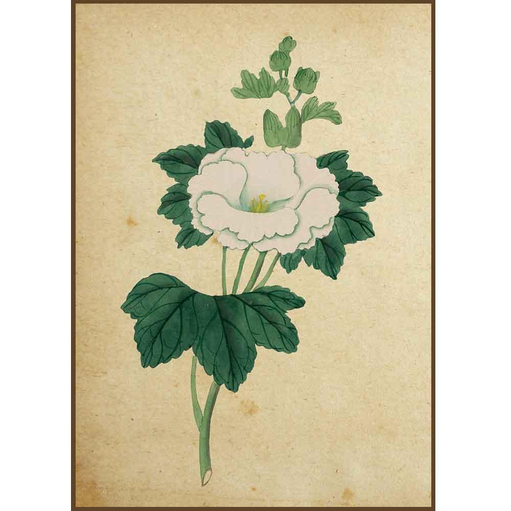 Quadro decorativo Flores em canvas - AGFL024