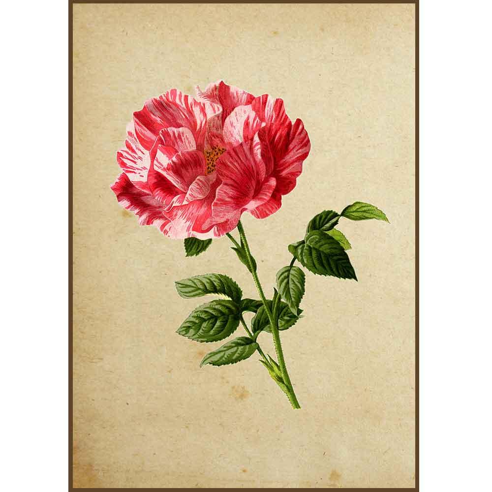 Quadro decorativo Flores em canvas - AGFL028