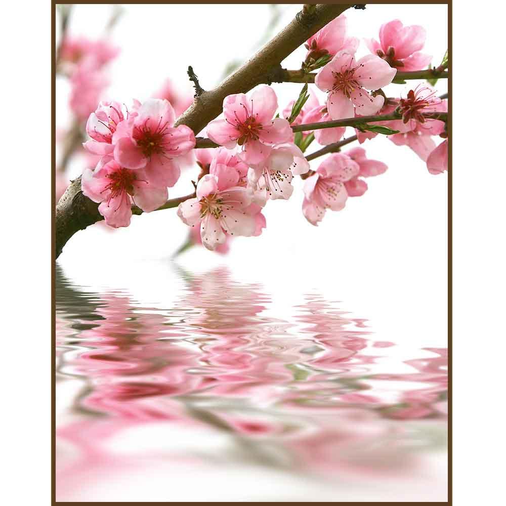 Quadro decorativo Flores em canvas - AGFL032