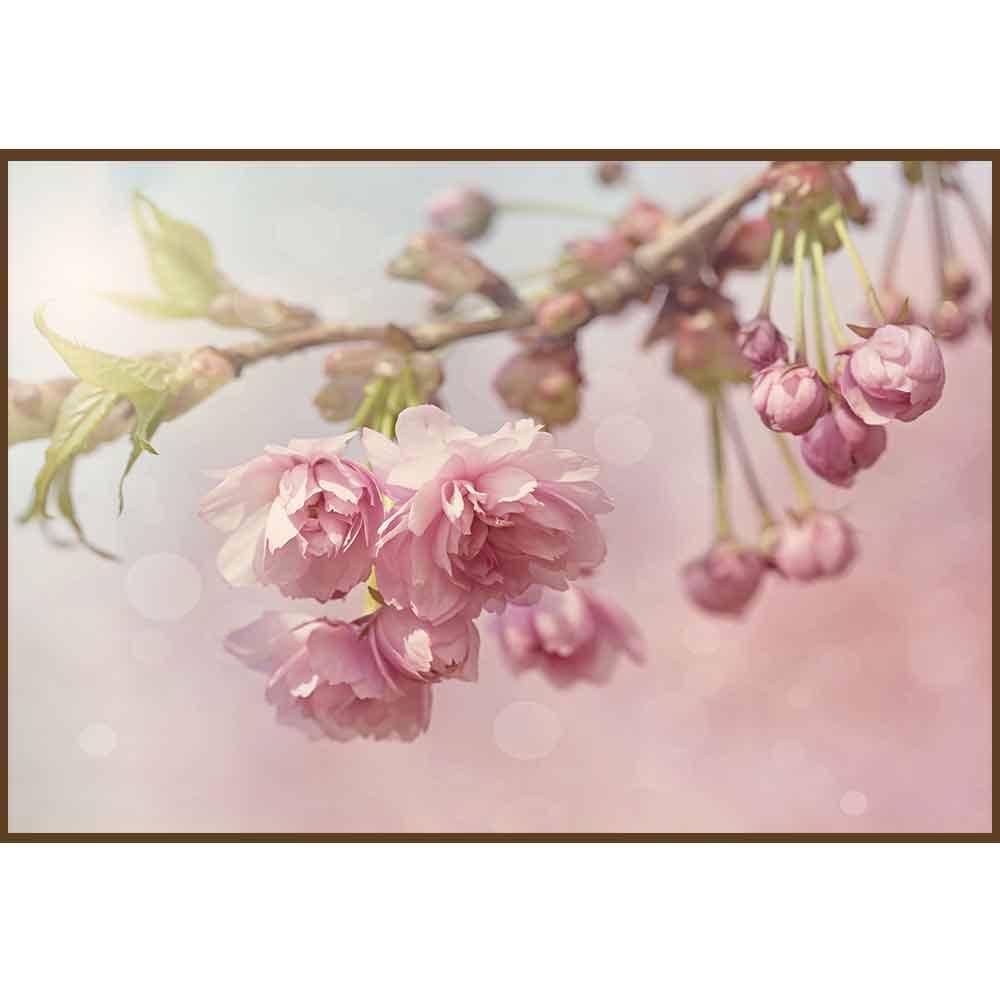 Quadro decorativo Flores em canvas - AGFL033