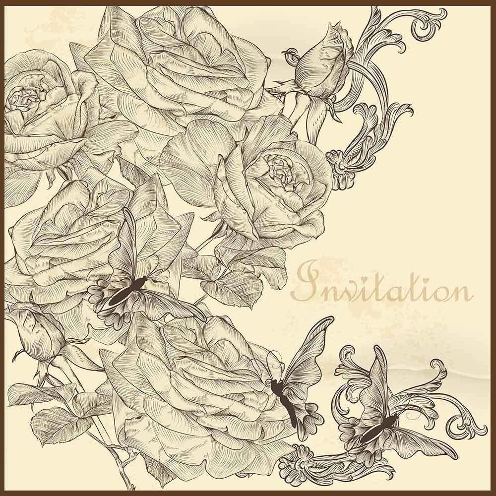 Quadro decorativo Flores em canvas - AGFL055