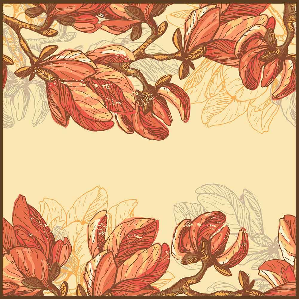 Quadro decorativo Flores em canvas - AGFL067