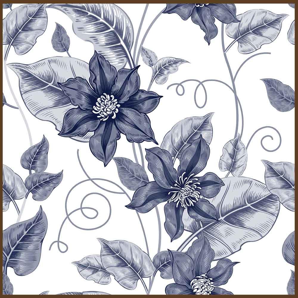 Quadro decorativo Flores em canvas - AGFL068