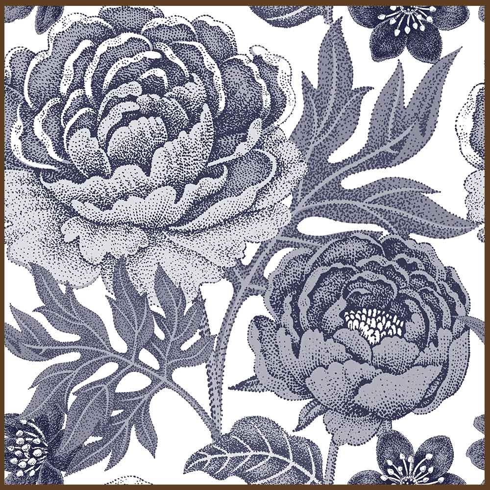Quadro decorativo Flores em canvas - AGFL070