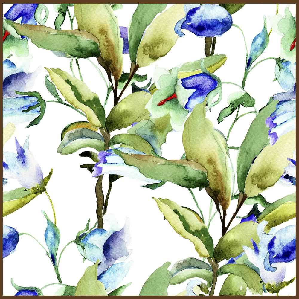 Quadro decorativo Flores em canvas - AGFL082