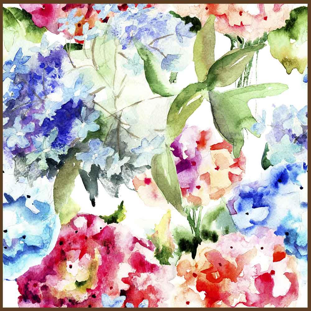Quadro decorativo Flores em canvas - AGFL084