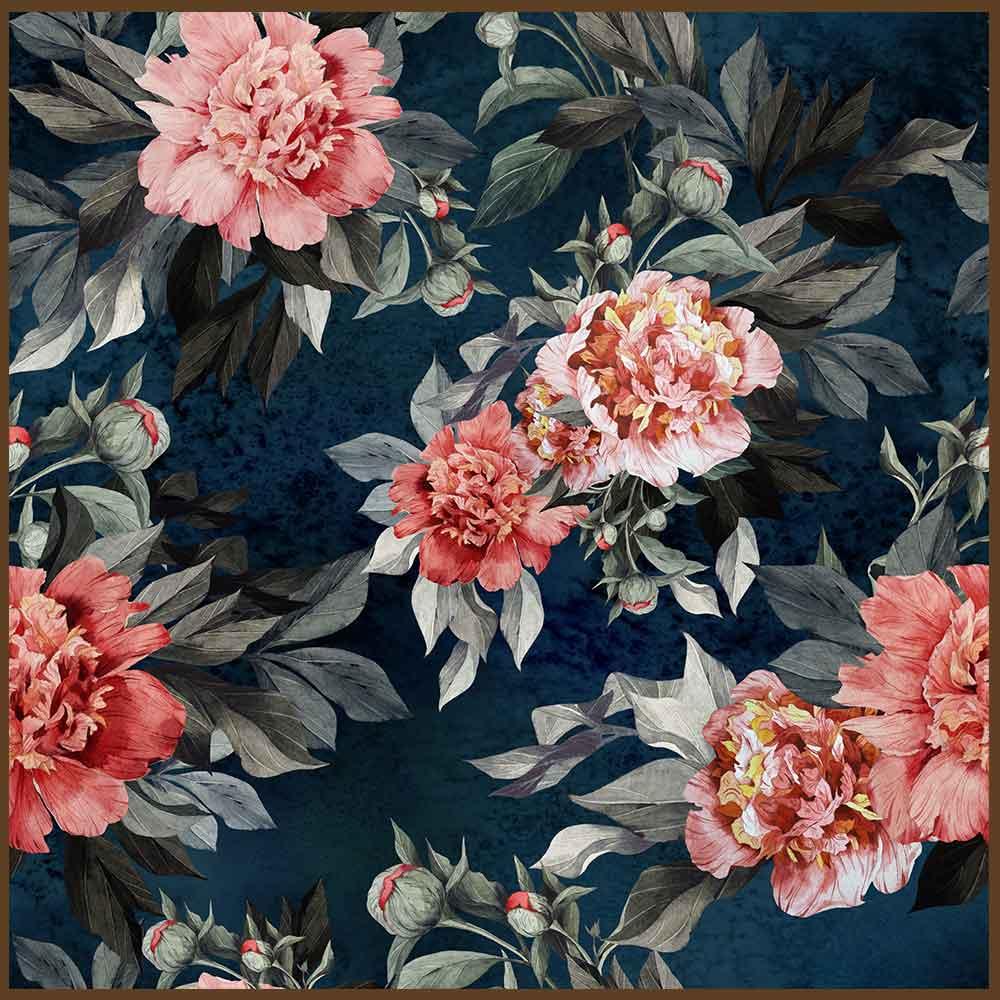 Quadro decorativo Flores em canvas - AGFL099
