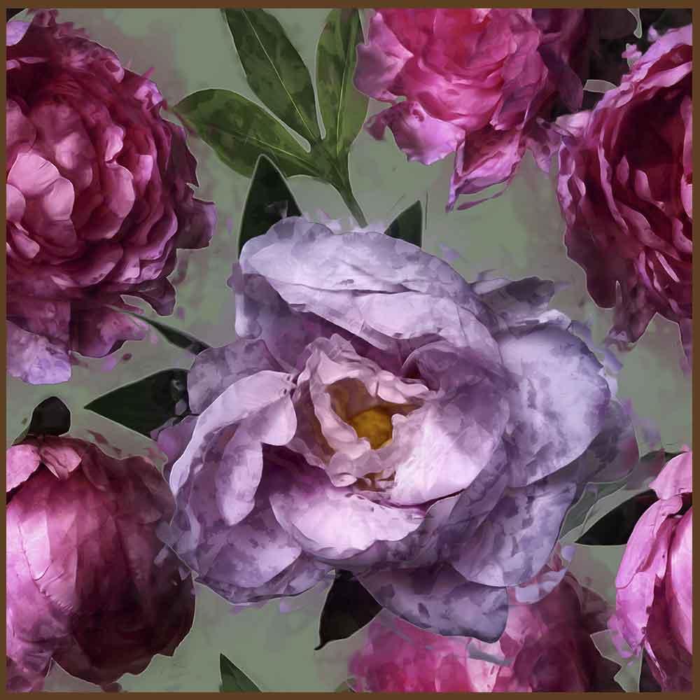 Quadro decorativo Flores em canvas - AGFL100