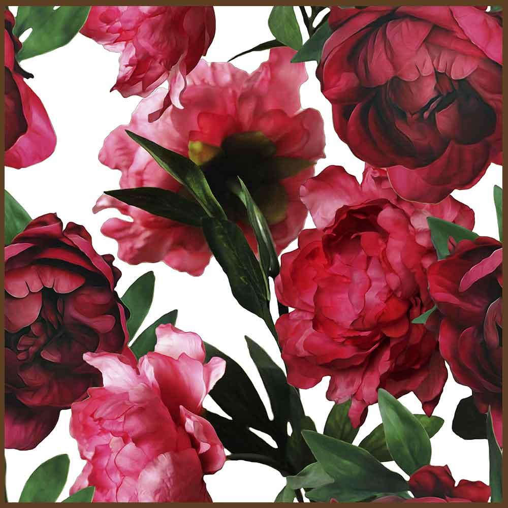 Quadro decorativo Flores em canvas - AGFL102