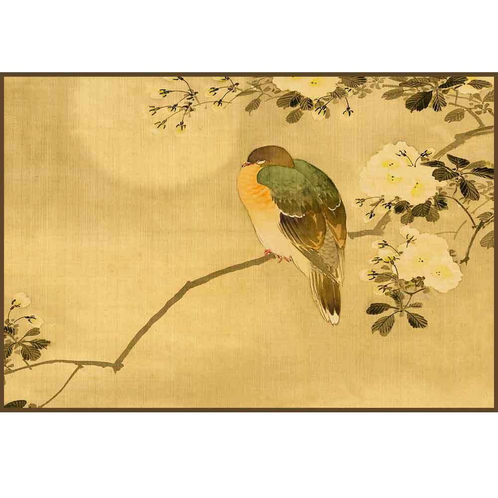 Quadro decorativo pássaro em canvas - AGPS015