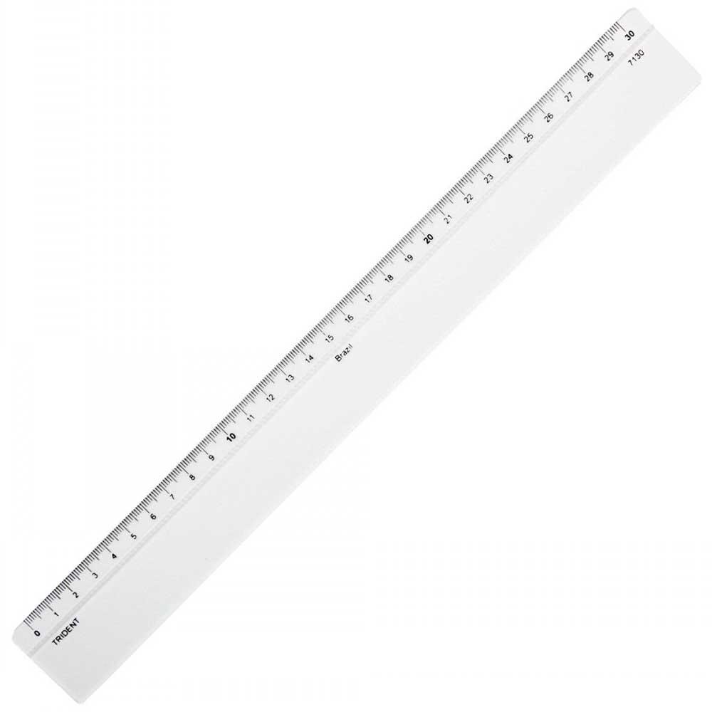 Régua de Acrílico 30cm Mod.7130 Trident