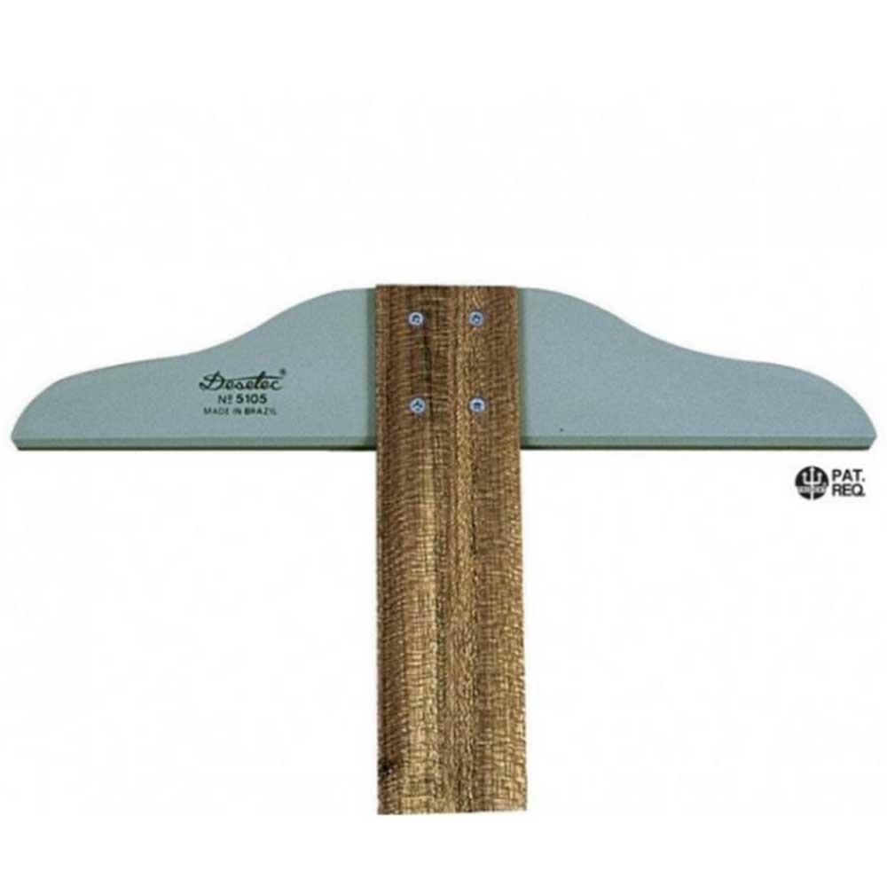 Régua T de Madeira 80cm Fixa Mod.5108 Trident