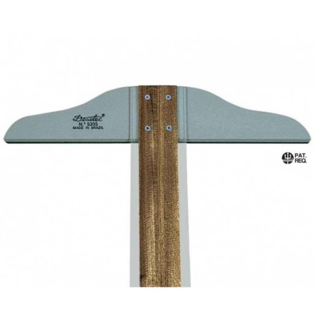 Régua T de Madeira 80cm Fixa Mod.5308 Trident