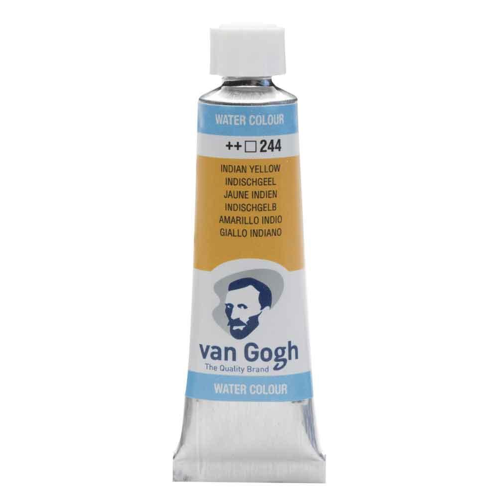 Tinta Aquarela Em Bisnaga Amarelo Indiano 244 Van Gogh - Royal Talens 10ml
