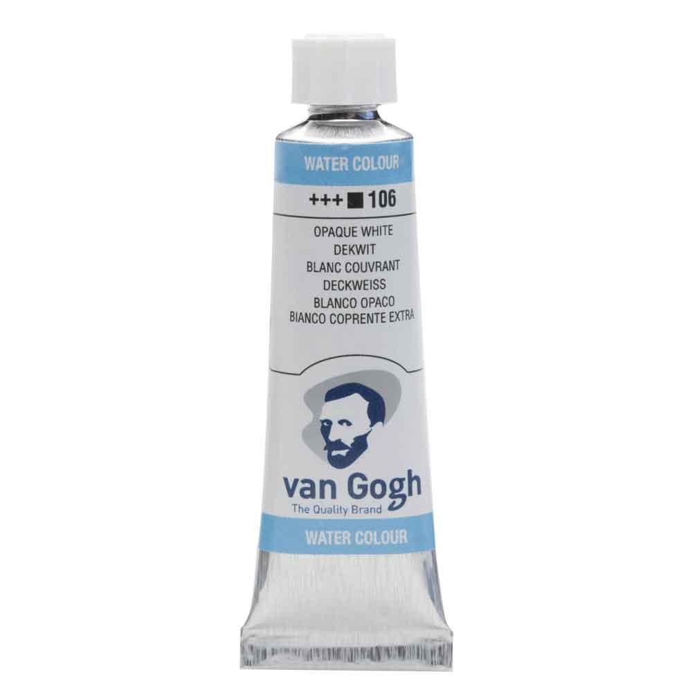 Tinta Aquarela Em Bisnaga Branco Opaco 106 Van Gogh - Royal Talens 10ml