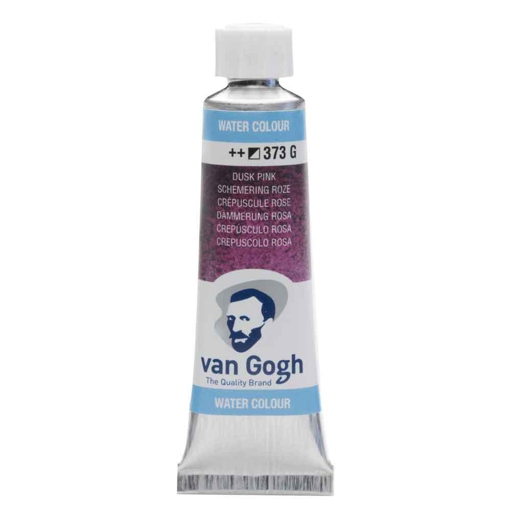 Tinta Aquarela Em Bisnaga Rosa Crepúsculo 373 Van Gogh - Royal Talens 10ml