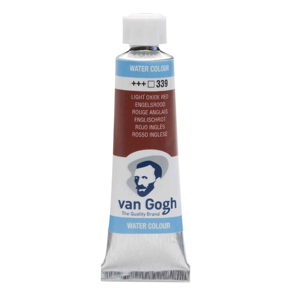 Tinta Aquarela Em Bisnaga Vermelho Oxido Brilhante 339 Van Gogh - Royal Talens 10ml