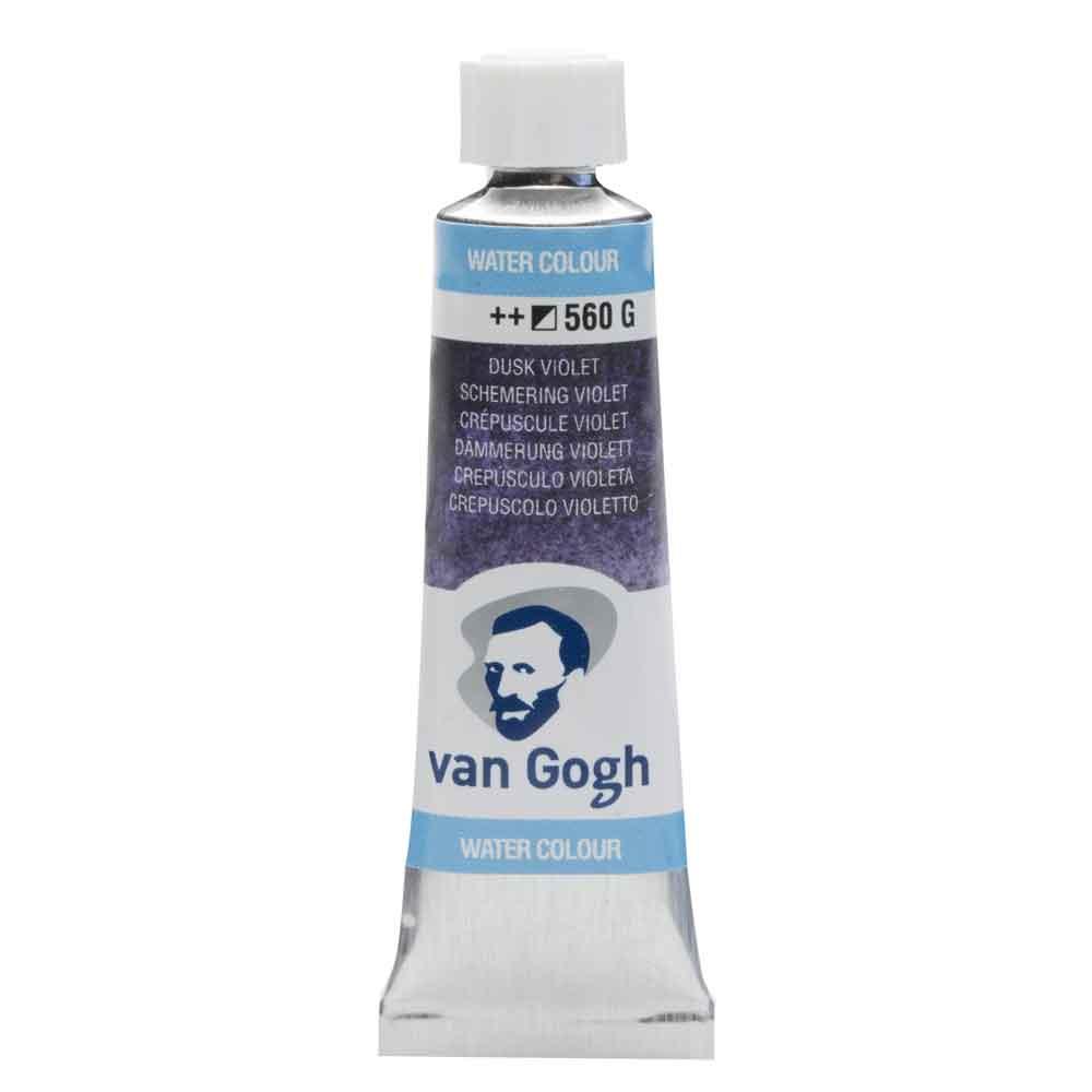 Tinta Aquarela Em Bisnaga Violeta Crepúsculo 560 Van Gogh - Royal Talens 10ml
