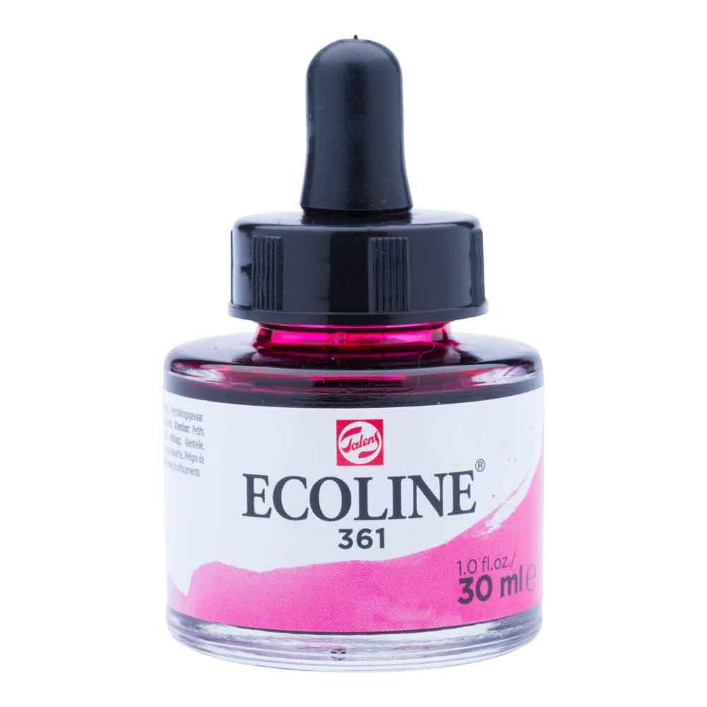 Tinta Aquarela Líquida Rosa Brilhante 361 - Ecoline Talens 30ml