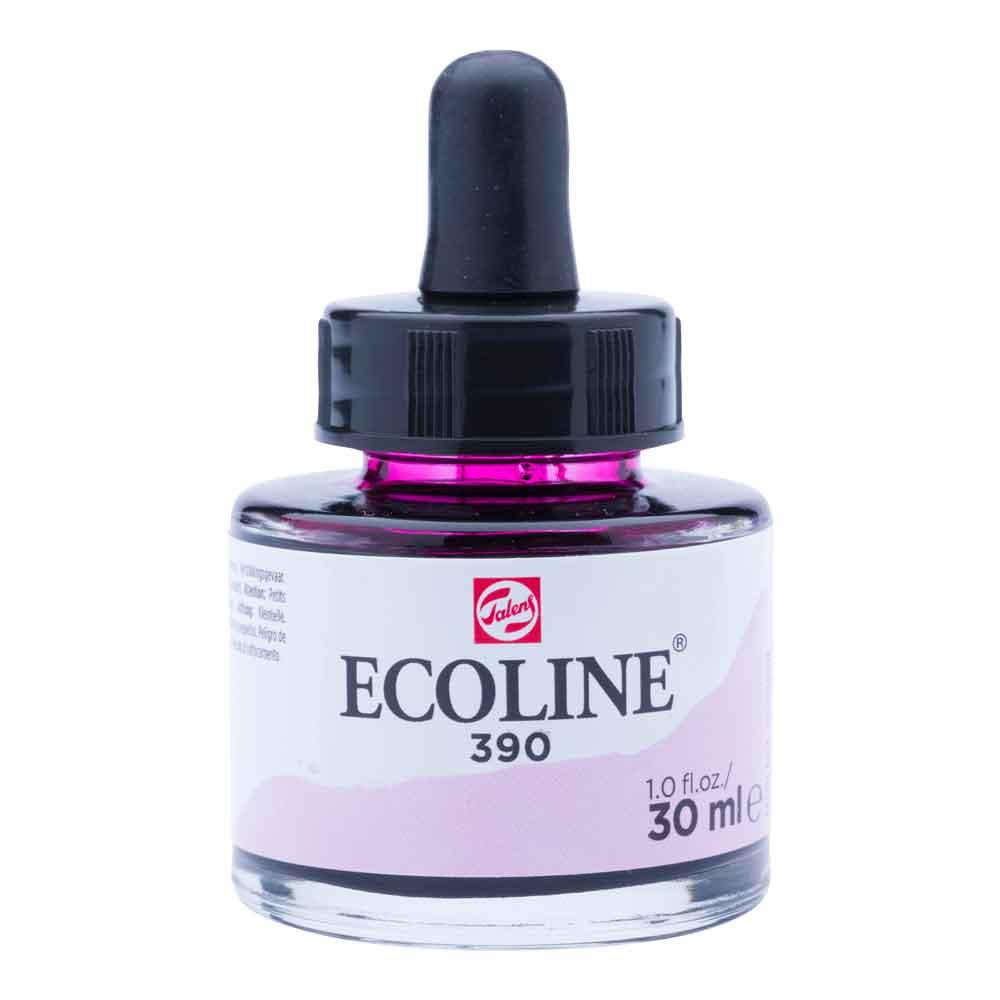 Tinta Aquarela Líquida Rosa Pastel 390 - Ecoline Talens 30ml
