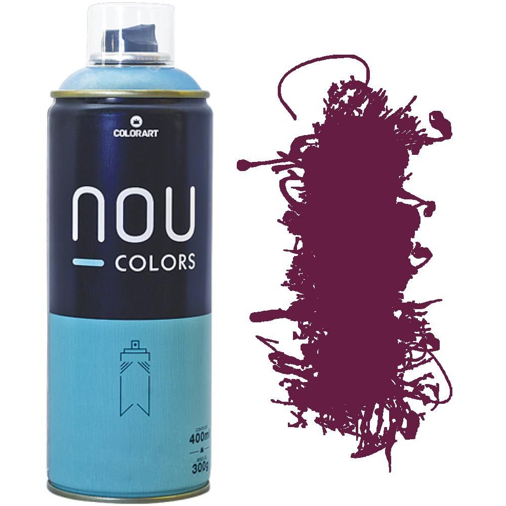 Tinta Spray Nou Colors 400ml Açaí 70234